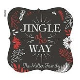 Jingle All The Way Personalized Christmas Cards - 17840