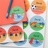 Just For Him Personalized Stickers - 17928