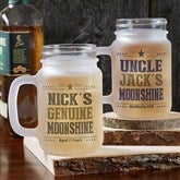 Write Your Own Personalized Frosted Mason Jar - 17936