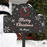 Wintertime Wishes Personalized Yard Stake with Magnet - 17962-S