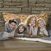 Photo Memories Personalized Lumbar Throw Pillow - 17972-LB
