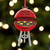King Of The Grill© Personalized Ornament