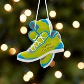 Born To Run Personalized Marathon Ornament- Green - 17982-G