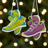 Born To Run Personalized Marathon Ornament- Purple - 17982-P