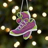 Born To Run Personalized Marathon Ornament- Purple - 17982-P