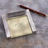 Signature Series Personalized Post-It® Holder - 18020