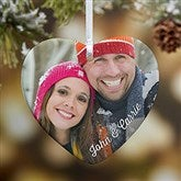 1-Sided Precious Photo Personalized Heart Ornament - 18070-1