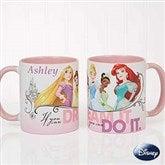 Disney® Princess Personalized Coffee Mug 11oz.- Pink - 18099-P