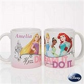 Disney® Princess Personalized Coffee Mug 11 oz.- White - 18099-W