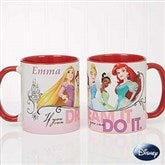 Disney® Princess Personalized Coffee Mug 11oz.- Red - 18099-R