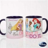 Disney® Princess Personalized Coffee Mug 11oz.- Blue - 18099-BL