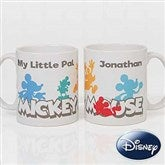 Disney® Mickey Mouse Silhouette Personalized Coffee Mug 11 oz.- White - 18100-W