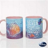 Disney® Finding Dory Seashell Personalized Coffee Mug 11oz.- Pink - 18101-P