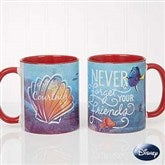 Disney® Finding Dory Seashell Personalized Coffee Mug 11oz.- Red - 18101-R