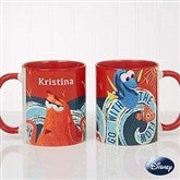 Disney® Finding Dory Go With The Flow Personalized Coffee Mug 11oz.- Red - 18102-R