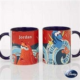 Disney® Finding Dory Go With The Flow Personalized Coffee Mug 11oz.- Blue - 18102-BL