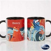 Disney® Finding Dory Go With The Flow Personalized Coffee Mug 11oz.- Black - 18102-B