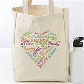 Close To Her Heart Personalized Petite Canvas Tote Bag - 18103