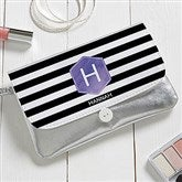 Modern Stripe Personalized Wristlet - 18110