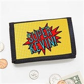 Super Hero Personalized Wallets for Kids - 18124