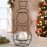 Snowman Votive Light-Up Ornament Stand - 18129-2
