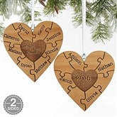 2-Sided Together We Make A Family Personalized Ornament - 18143-2