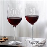 Luigi Bormioli® Personalized 20oz. Red Wine Glass- Monogram - 18155-RM