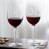 Luigi Bormioli® Personalized 20oz. Red Wine Glass- Monogram - 18155-RM