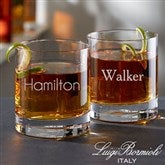Luigi Bormioli® Personalized Old Fashioned Whiskey Glass- Name - 18156-N