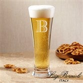 Luigi Bormioli® Personalized Beer Pilsner Glass- Monogram - 18157-M