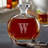 Luigi Bormioli® Engraved Whiskey Decanter- Monogram - 18158-M