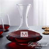 Luigi Bormioli® Engraved Captain's Wine Decanter- Monogram - 18159-M