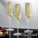 Luigi Bormioli® Classic Celebrations Personalized Champagne Glass - 18160-N