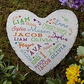 Close to Her Heart Personalized Garden Stone - 18194
