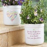 Close to Her Heart Personalized Outdoor Flower Pot - 18195
