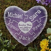 Together We Make A Family Personalized Garden Stone