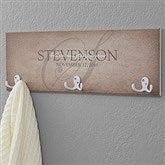 Heart of Our Home Personalized Coat Rack - 18222