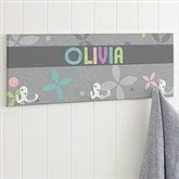 Trendy Girl Personalized Coat Rack - 18225