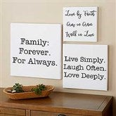 Home Expressions Personalized Canvas Print- 24