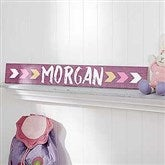 Tribal Inspired Name Décor Personalized Wooden Sign - For Her - 18249-F