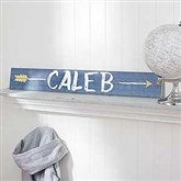 Tribal Inspired Name Décor Personalized Wooden Sign - For Him - 18249-M