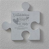 Grandparents Personalized Puzzle Piece Wall Décor - 18259