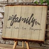 Cozy Home Personalized Basswood Planks- Small - 18276-S
