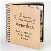 Reasons Why© Personalized Wood Photo Album - 1828
