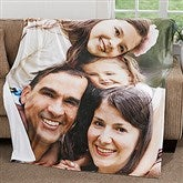 Picture Perfect Personalized 60x80 Fleece Photo Blanket - 18280-L