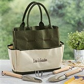 My Garden Personalized Garden Tote and Tools