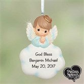 1st Holy Communion Precious Moments® Personalized Keepsake Ornament- Boy - 18306-B