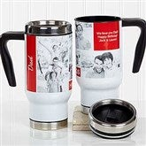 Family Love Photo Collage Personalized Travel Mug - 18312