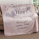 Grandparents Personalized 60x80 Fleece Blanket - 18353-L