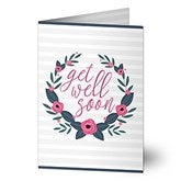 Get Well Soon Personalized Greeting Card - 18356
